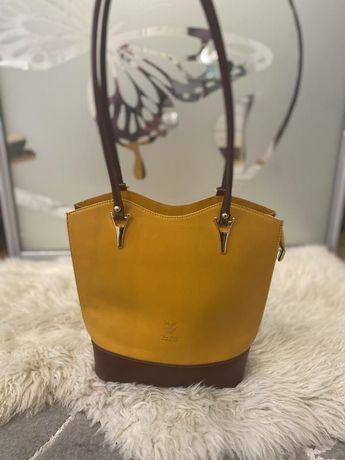 Vera pelle сумка натуральная кожа кожаная италия яркого цвета