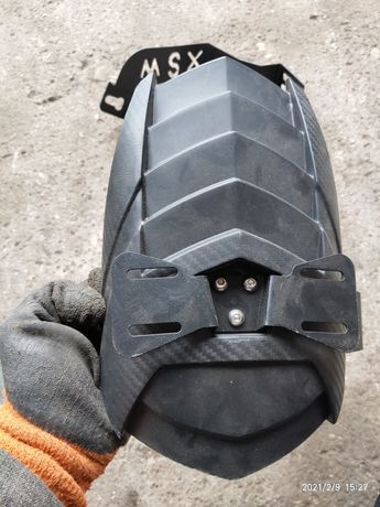 Бризговик, Болотник до мотоцикла