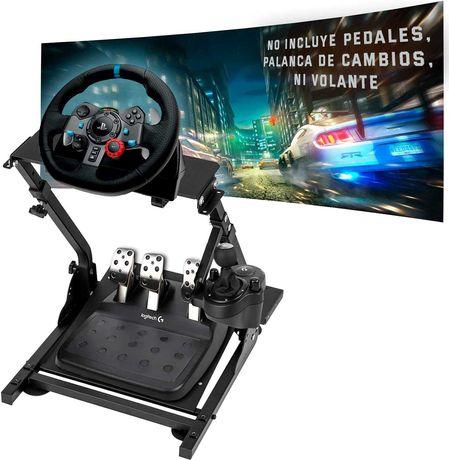 Suporte Gaming Volante+Pedais+Caixa Univ. / Logitech G27, G29, G920