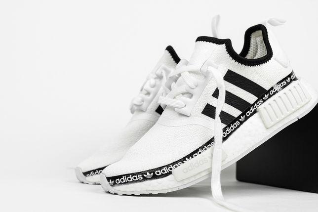 Nowe Adidas NMD R1 Black White yezzy boost air max bardzo wygodne