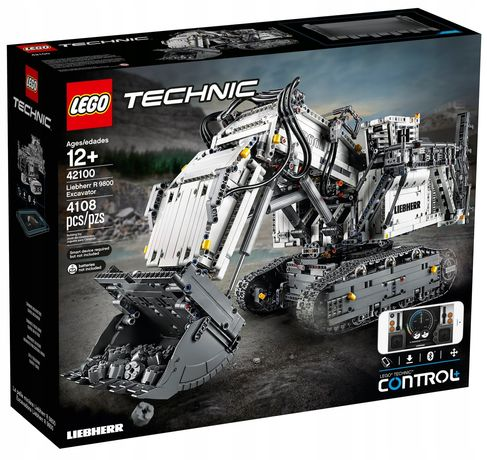 Lego Technic Koparka Liebherr 42100 NOWY