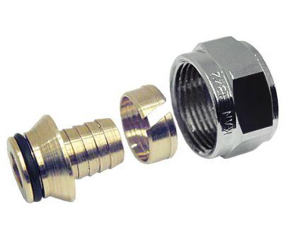 KAN-therm Соединитель конусный для труб PE-R14*2 G1/2*