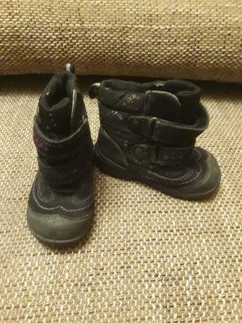 Buty dla dziewczynki, zimowe w rozmiarze 21