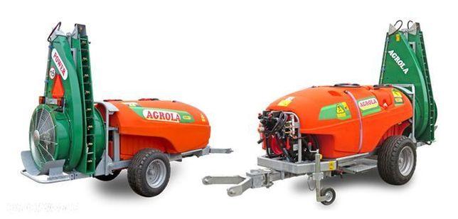Agrola Power 1500v  Opryskiwacz sadowniczy, elektrozawory ARAG