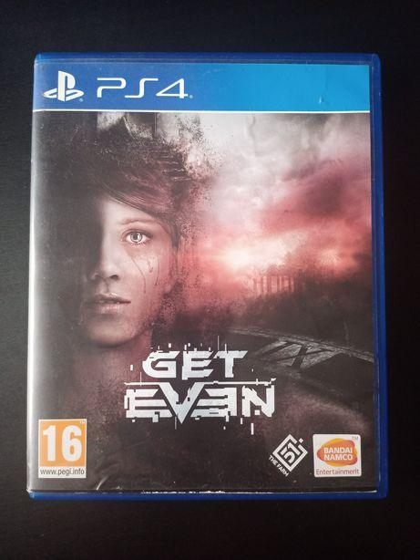 PS4 GET EVEN PlayStation 4 PL