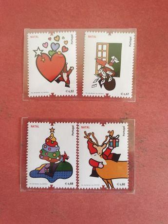 Selos Natal colecção CTT