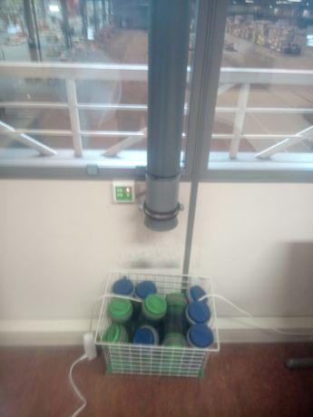 System powietrzny poczta rurowa pneumatyczna