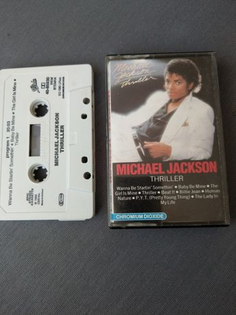 Michael Jackson Thriller 1982 rok