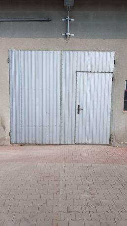 Brama garażowa otwierana