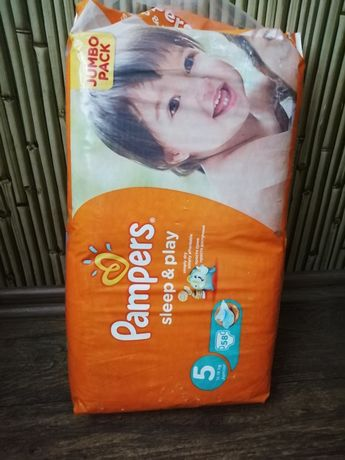 Подгузники Pampers Sleep&Play Размер 5,  Jumbo Pack 58шт