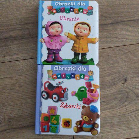 Obrazki dla maluchów zabawki ubrania komplet