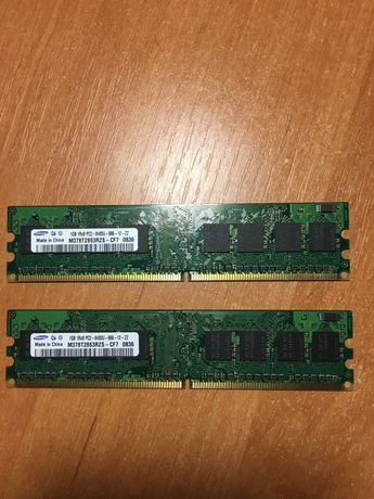Оперативная память SAMSUNG DDR2 2x1