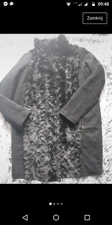 Płaszczyk carry z kożuszkiem