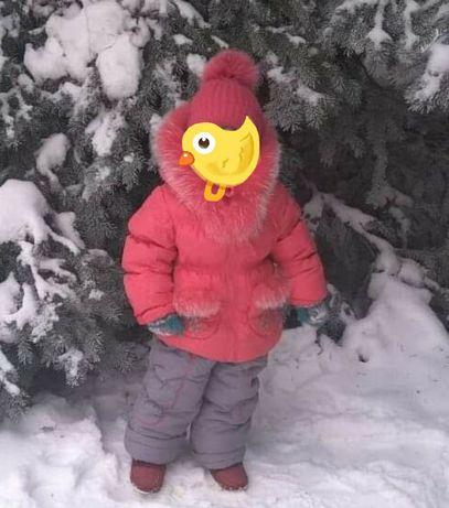 Зимний костюм,комбинезон