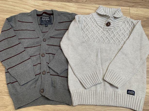 Sweter chłopięcy r. 110
