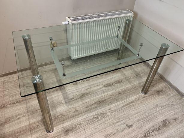 Szklany stół 150x90x74