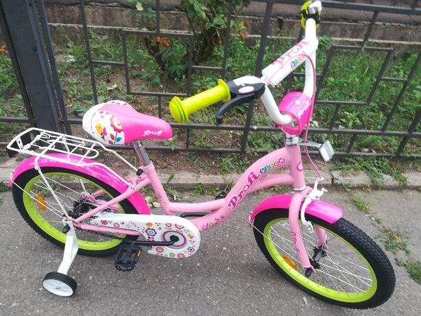 """Велосипед Profi 18"""".Для девочек от 5-ти лет и старше( выше 107 см)"""