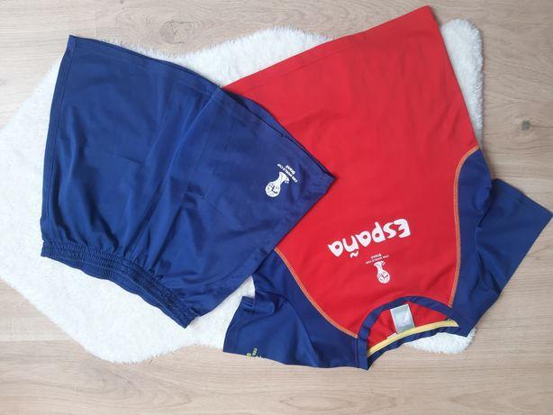 Komplet strój piłkarski koszulka+spodnie rozm.146/152