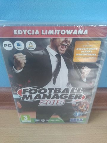Gra Football Manager 2018 Gdynia - image 1