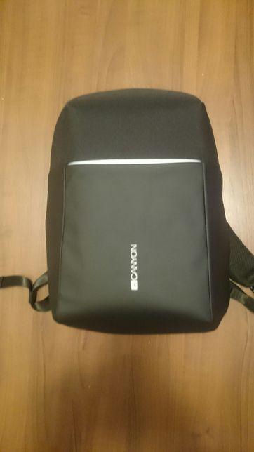 Продам новый антивор рюкзак для ноутбука Canyon 15.6 Black