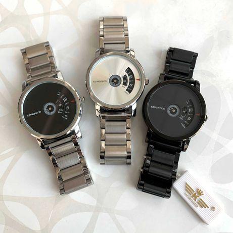Женские мужские часы Kingnuos металевий годинник жіночий чоловічий