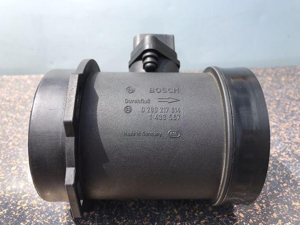 Розходомір повітря BMW E39 M64 4.4i БМВ Bosch расходомер воздуха Шрот