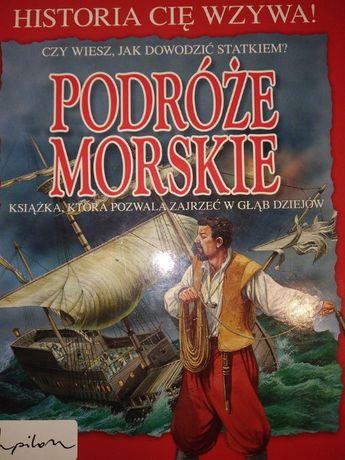 Podróże Morskie Książka, która pozwala zajrzeć w głąb dziejów