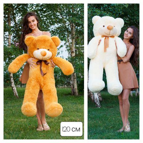 Мишка большой, Медведь плюшевый, мягкий подарок, мишка Тедди, ведмедик
