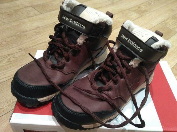 Новые зимние ботинки для мальчика New Balance размер 32,5