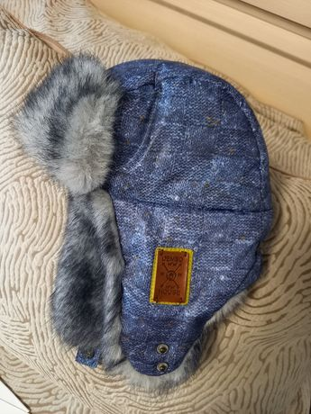 Зимняя шапка 52 размер тм Дембохаус  Dembohouse