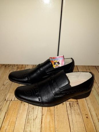 Кожаные, ортопедические туфли от тм шалунишка
