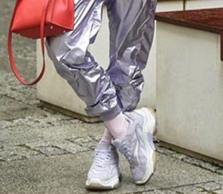 Buty Ash Addict sneakers lawendowe rozmiar 38