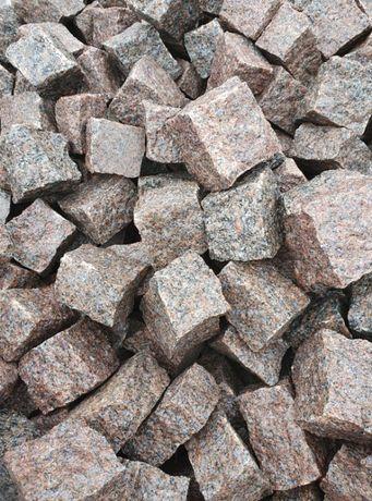 Kostka granitowa czerwona czarna 4/6 FLIVIK