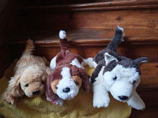 Pieski playmates Toys husky i 2 inne