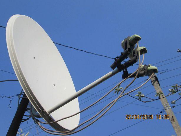 Спутниковая антена+тюнер