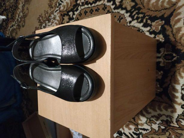 Buty skórzane 36