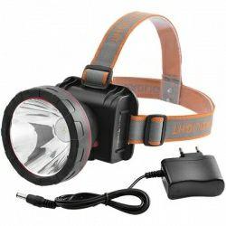 Налобный фонарь YJ-1850-15W(15Ватт) для рыбалки, охоты.