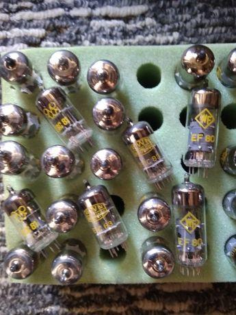 радиолампы Еl86 . EF80 QQE03\12...новые