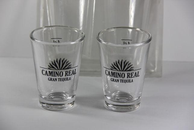 Camino Real Gran Tequila - kieliszki 4 cl zestaw 2 szt