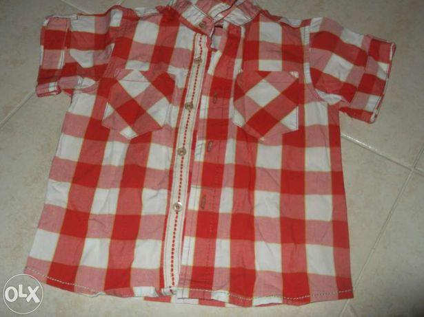 Camisa de rapaz até 3 anos
