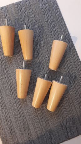 Nóżki meblowe drewniane 8cm