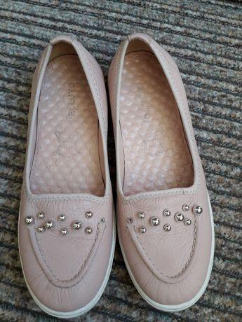 Туфли для девочки 37р, туфли кожа 37, стелька 23.5см
