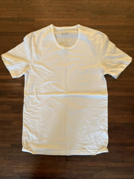 Koszulka HUGO BOSS T-shirt bialy rozmiar M Szczecin - image 1