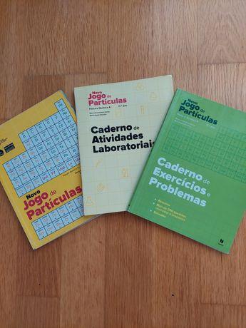 Manual Novo Jogo de Partículas Física e Química 11 ano