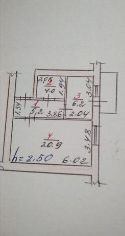 +Продам 1-кімн.квартиру з індивідуальним опаленням в центрі.