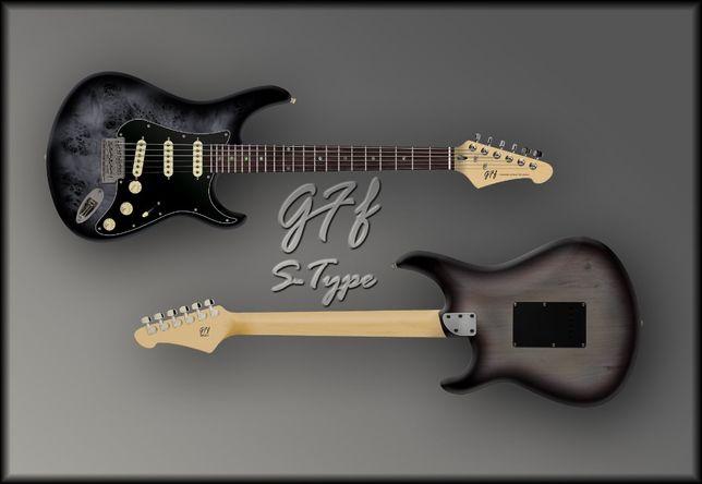 "Gitara elektryczna GFF S-Type ""Seria1"" GBS | GFF Handcrafted Guitars"