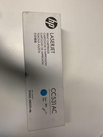 Toner HP azul CC531AC