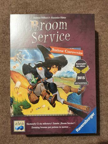 Broom Service gra planszowa nowa zafoliowana