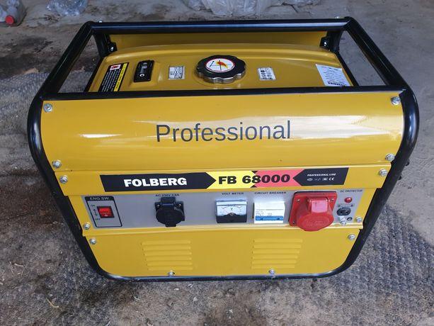 Sprzedam nowy agregat prądotwórczy Folberg FB68000 6,7kW Niemiecki.