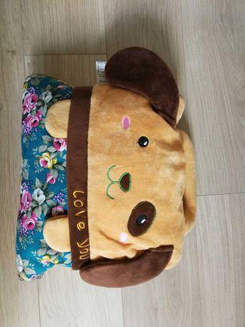 Koc poduszka maskotka Nowy